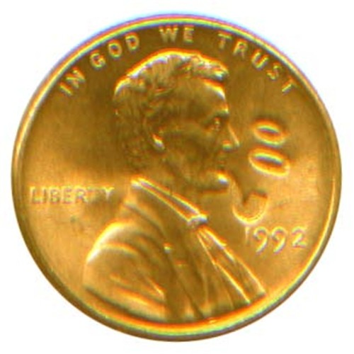 Lucky Penny - Lincoln Smokes a Pipe!